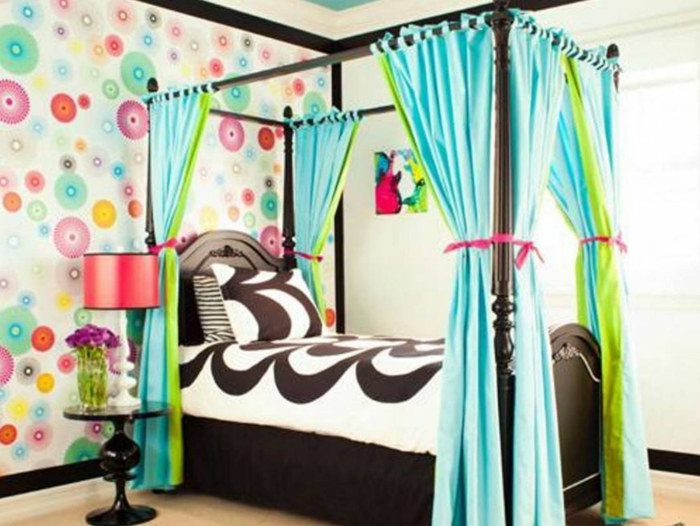 sky bed curtain sky bed room divider colorful