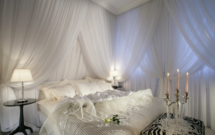 Himmelbette curtain sky bed room divider royal pearls