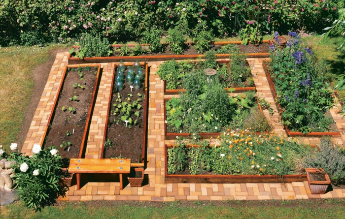 raised bed garden design ideas functional compact