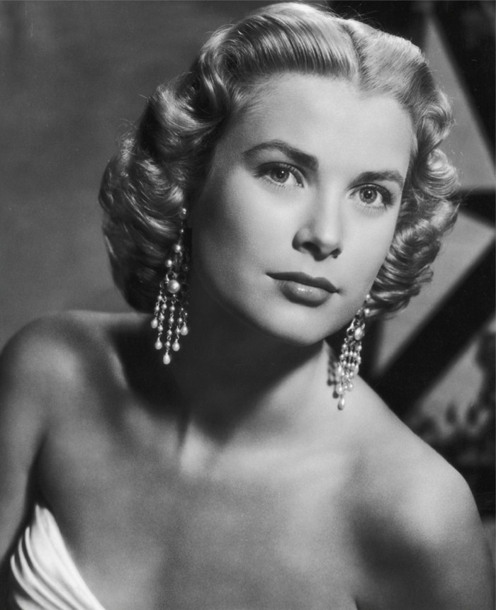 updo Grace Kelly retro frisyre