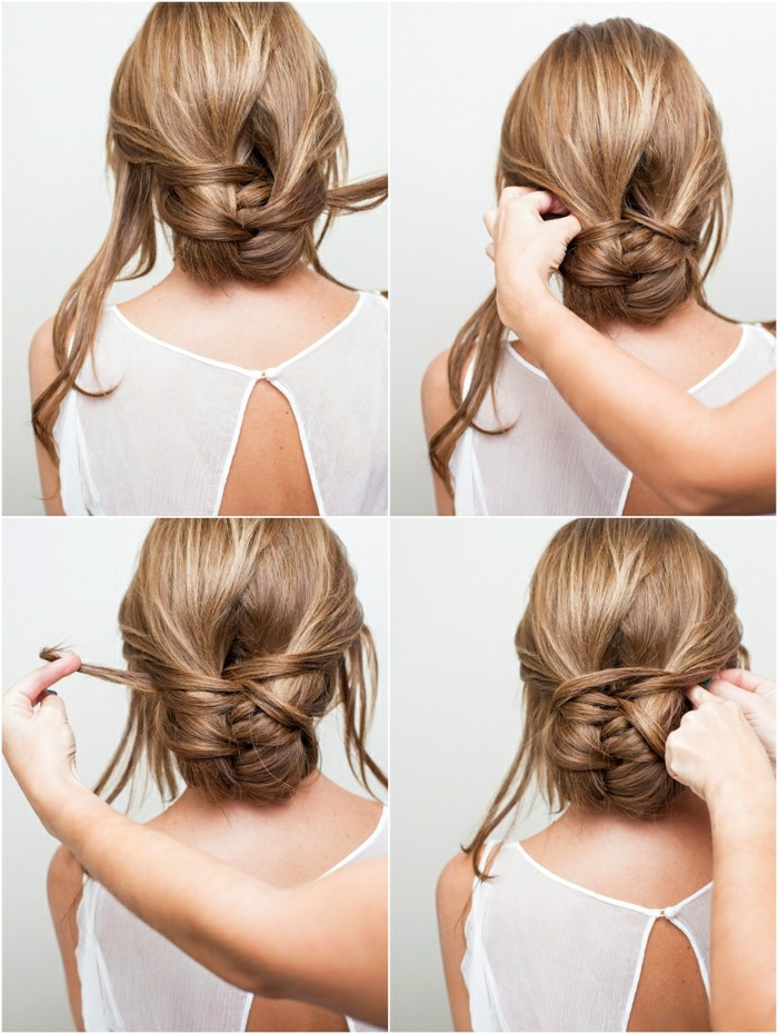 updo-yourself-making instructions Lax-dutt