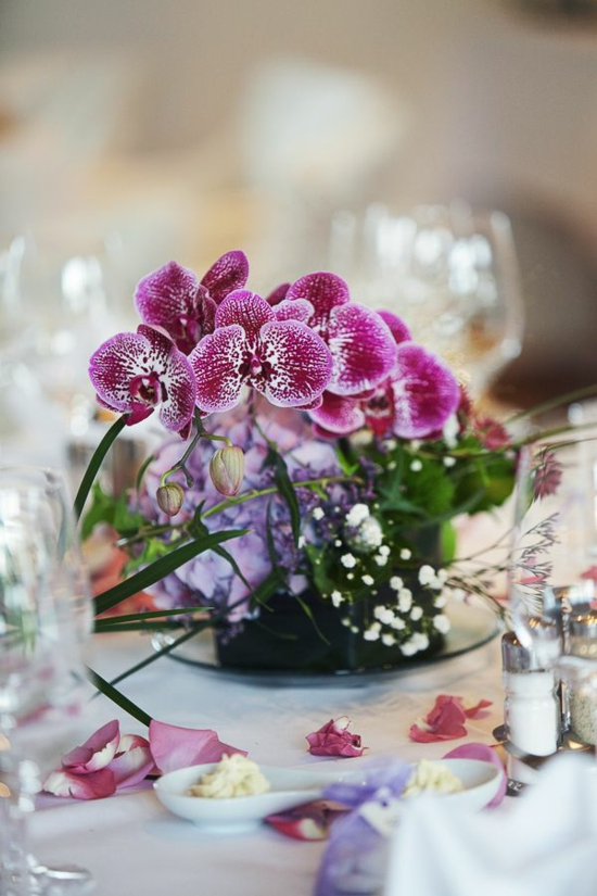 wedding in spring flowers orchid