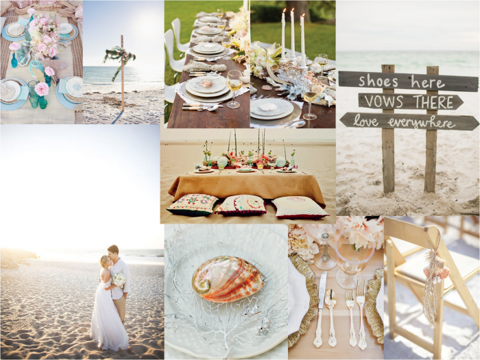 wedding decoration trends beach summer
