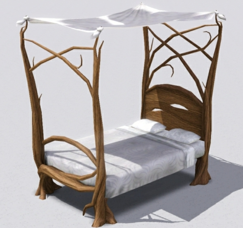 wood-bedstead-frame-nature-inspired mattress-original