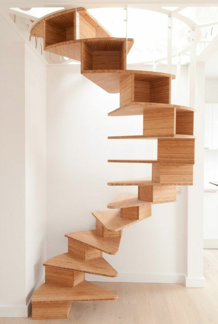 Renovate staircases unusual wooden stairs with storage space
