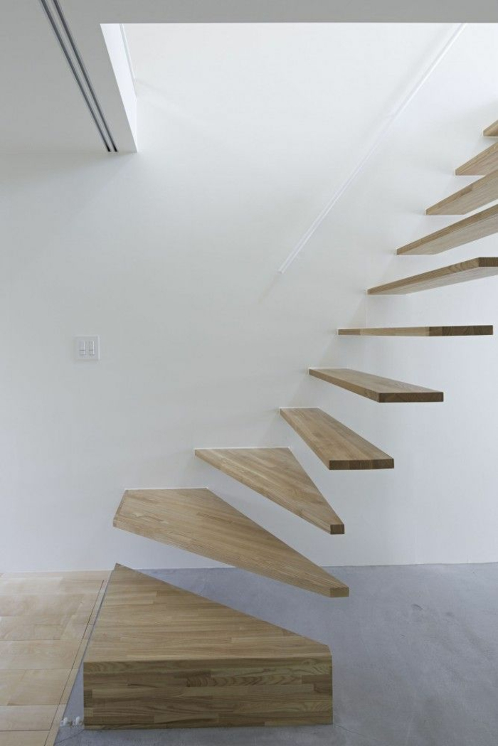 staircases themselves build unusual wooden stairs
