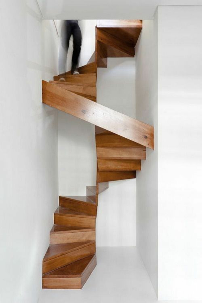 staircases build themselves or renovate unusual wooden stairs