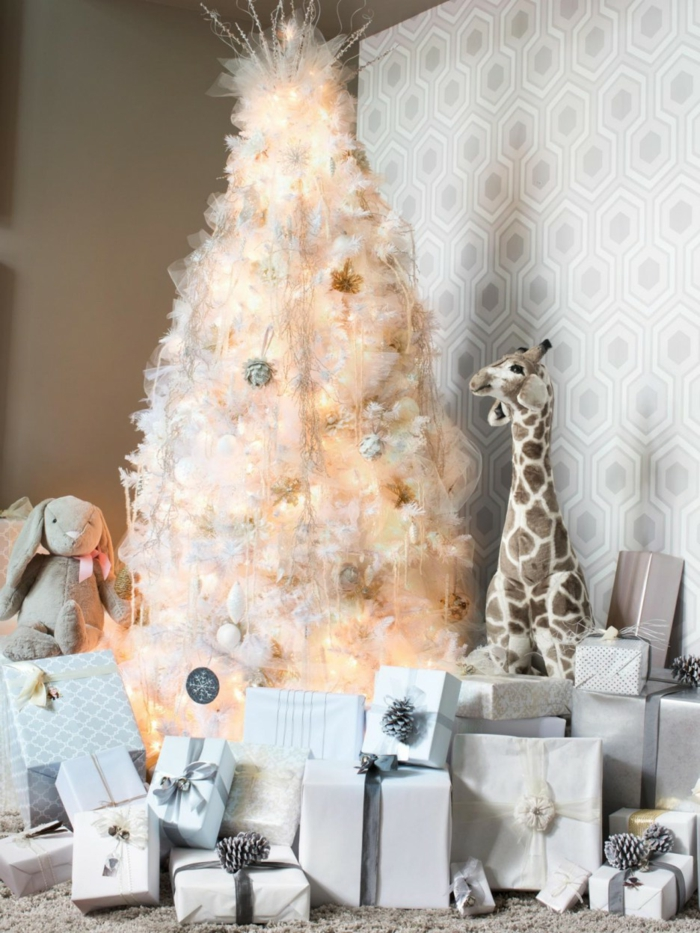 interior decoration living room christmas beautiful christmas tree bright wallpaper many gifts
