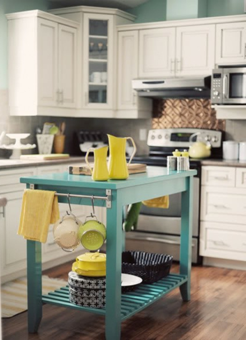 kitchen island small and simple