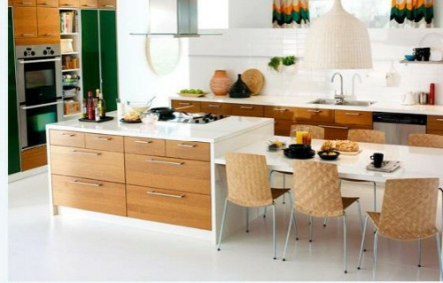 kitchen island system with drawers dining table and chairs