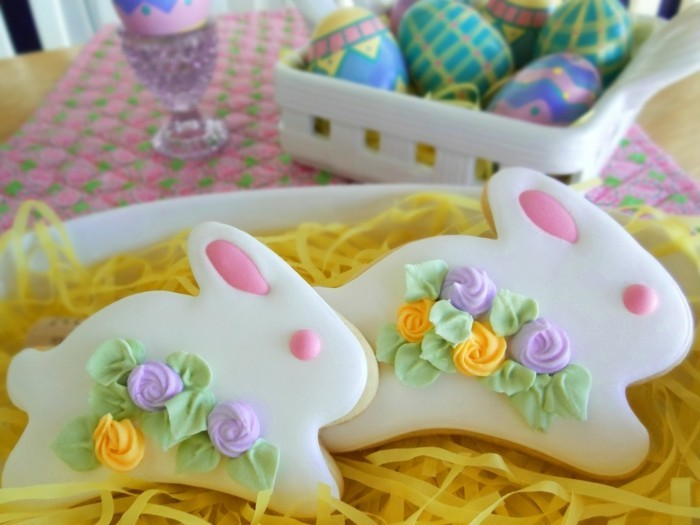 baking biscuits yourself easter cookies ideas