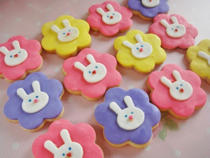 baking biscuits fondant easter cookies baking