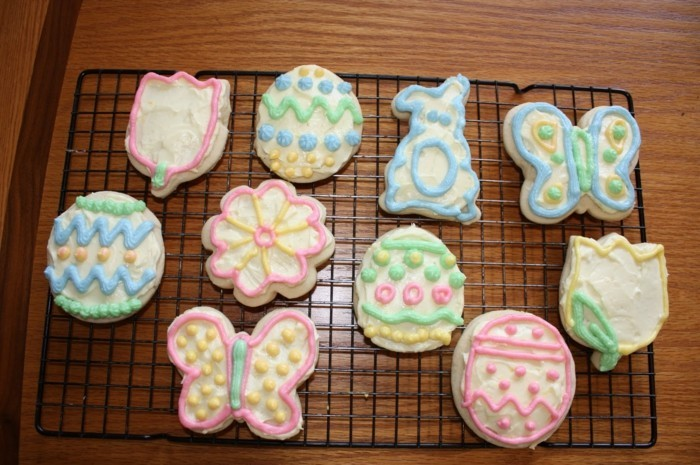 cookies decorate ideas easter tulips easter eggs butterflies