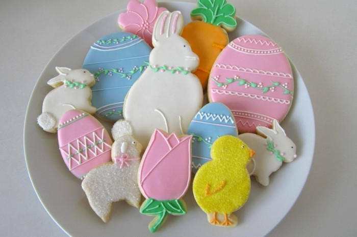 cookies decorate funny shapes easter