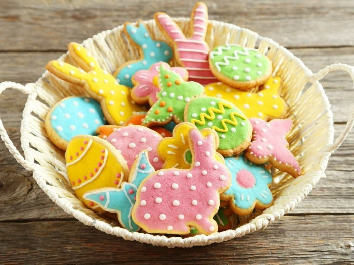 biscuits decorate funny easter biscuits decorate pattern shapes