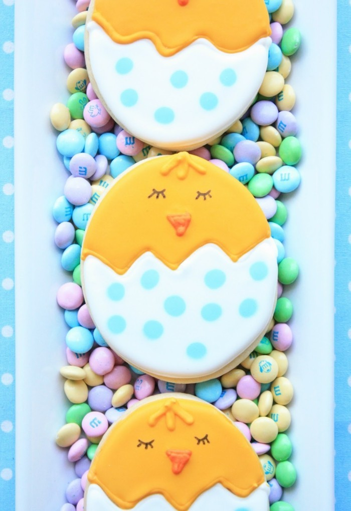 cookies decorate easter cookies ideas easter chicks