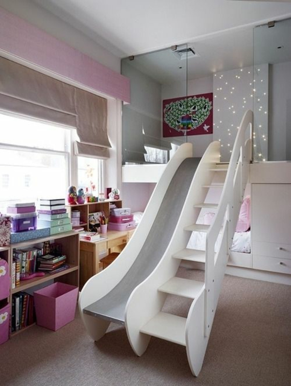 children bedroom fashion bed chute stairs