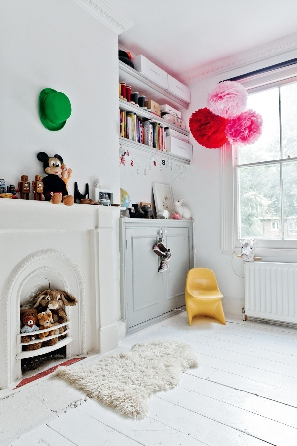decorate children's room colored living ideas travel space