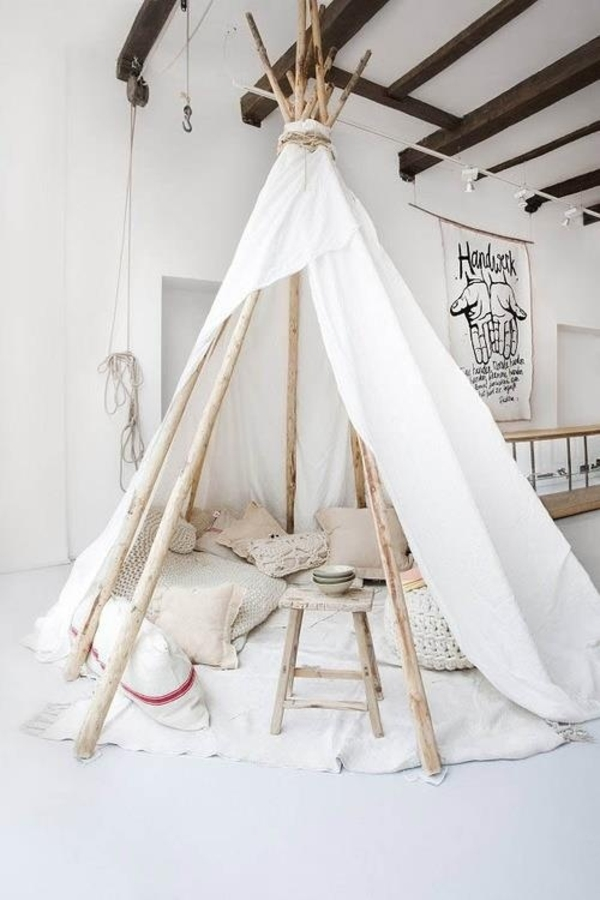 children's room design travel tent out of bed sheet