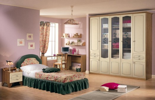 classic nursery furnishings green walls wood bedding