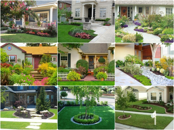 small front yard landscaping garden design ideas