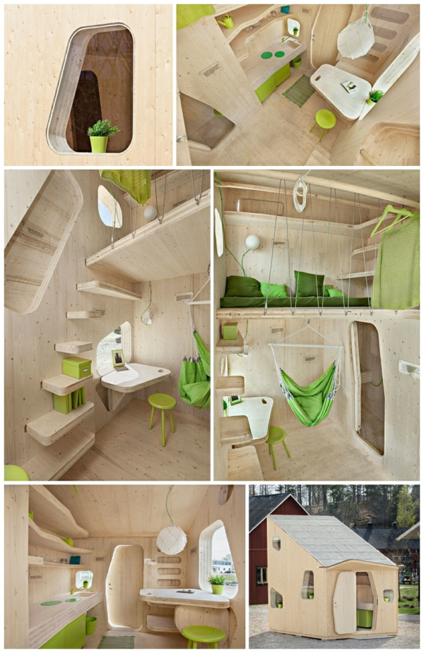 small wooden house student apartment tengbom architekts