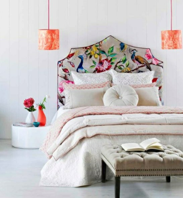 headboard bed flooring wall design fresh
