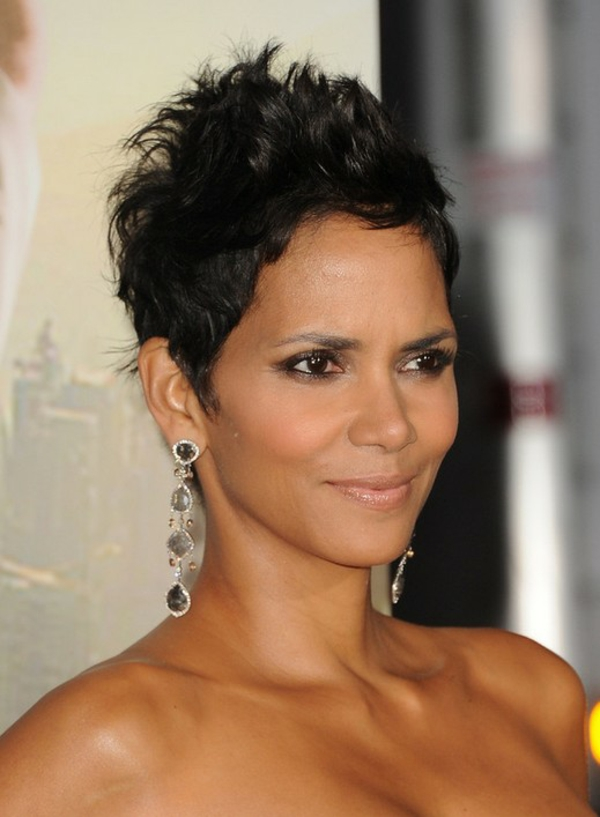 short hairstyles modern 2015 pixie black hall berry