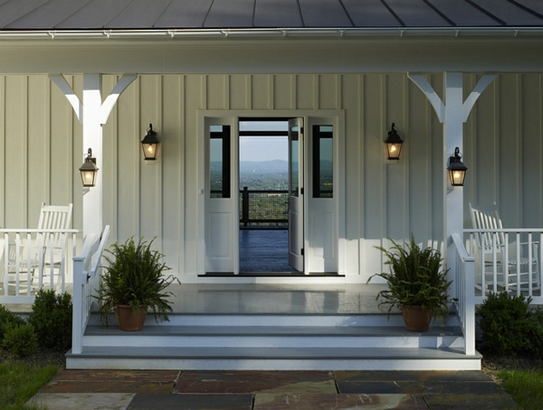 country house furnishing patio lanterns