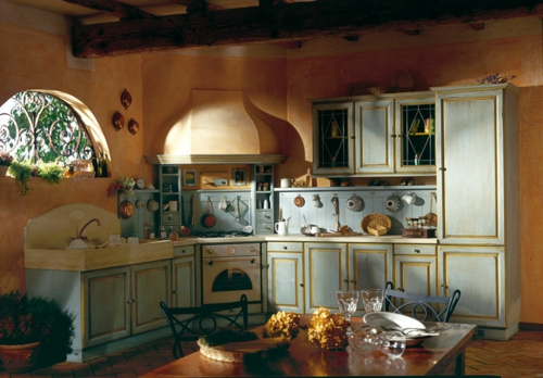 rustic kitchen solid wood style rustic design idea