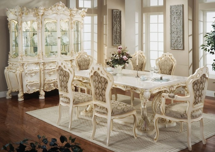 country style dining room french style beige