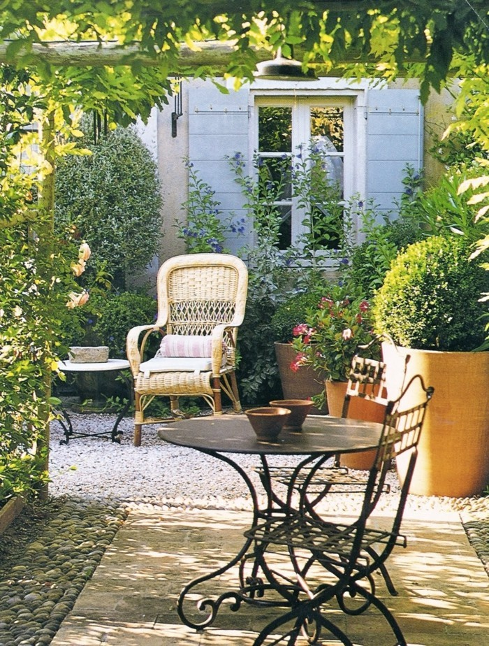 country style french style gardening ideas