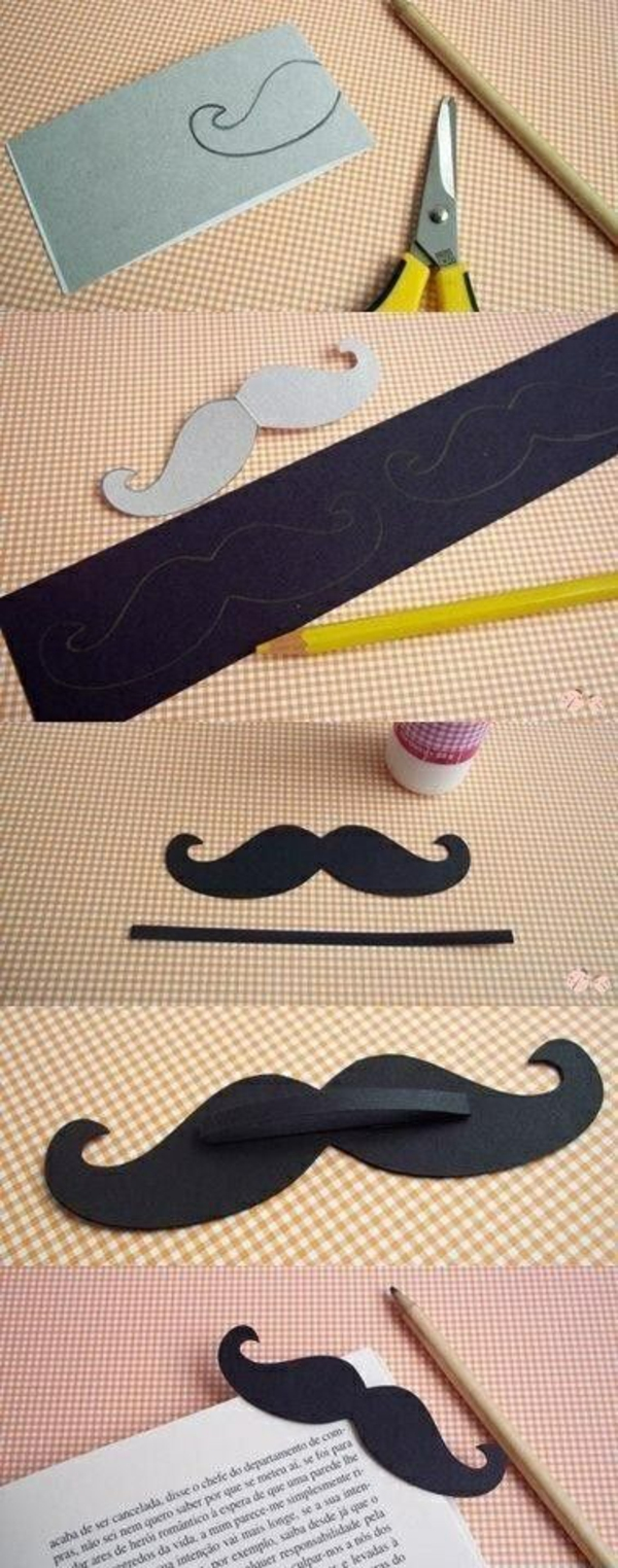 marcă de crafting mustache crafting ideas with paper