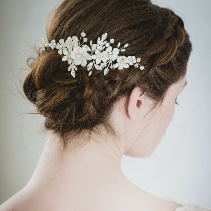 loose-updo-wedding-bridal hairstyle