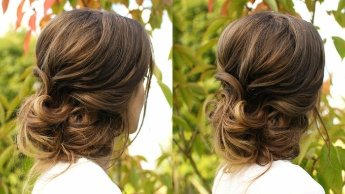 loose-updo-yourself-making bronde-hair