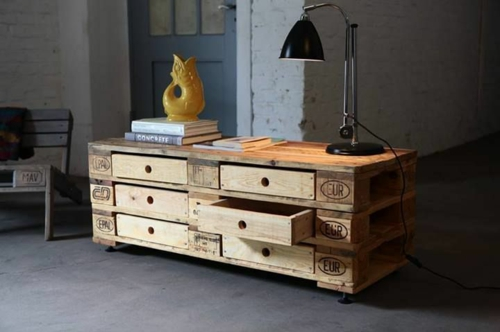 furniture made of pallets desk europallets