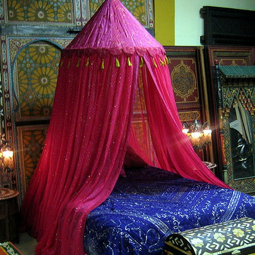 oriental bedroom designs canopy pink