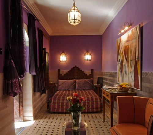oriental bedroom designs purple