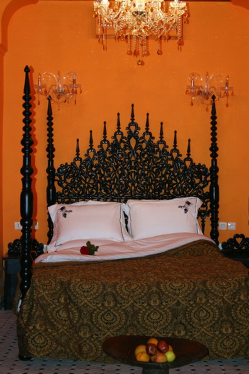 Moroccan bedroom design idea board