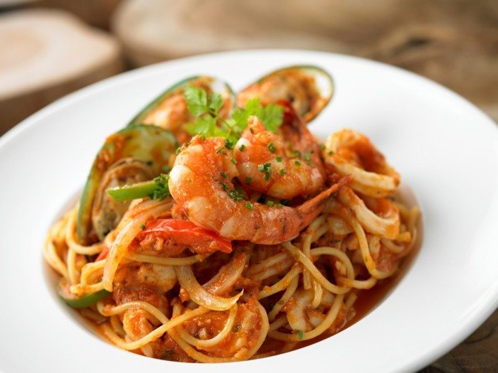 seafood species spaghetti