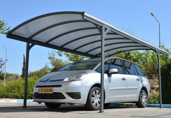 Metal carport kit