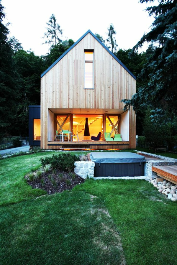 modern architecture country house wooden houses with porch porch build terrace design