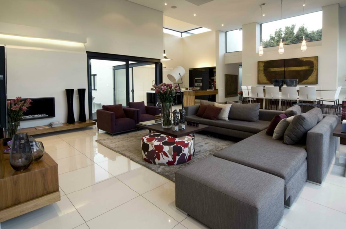 modern living room set up corner sofa flooring living room dekovasen