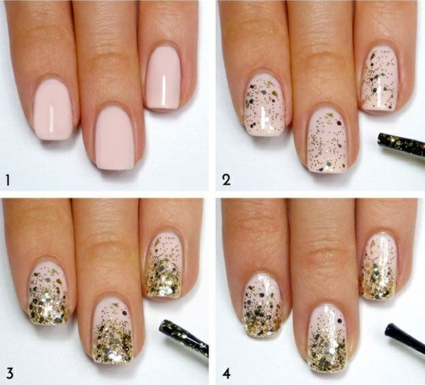 nail design picture gallery nail art ideas glitter gold