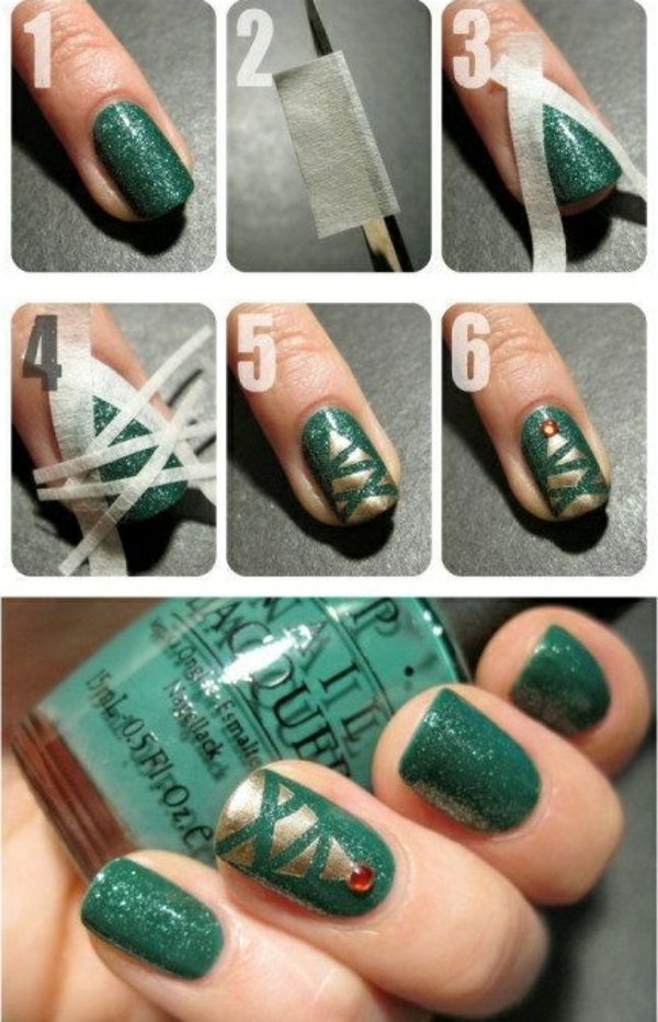nail design picture gallery nail art christmas christmas tree