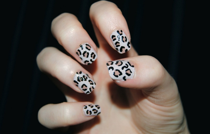 nail polish ideas leopard nails ideas chic