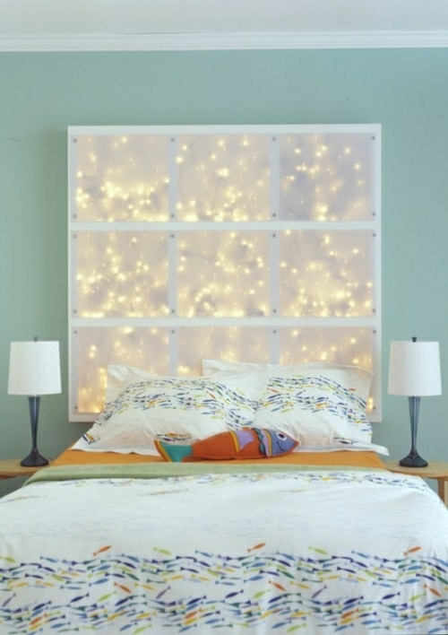 original beds led headboard