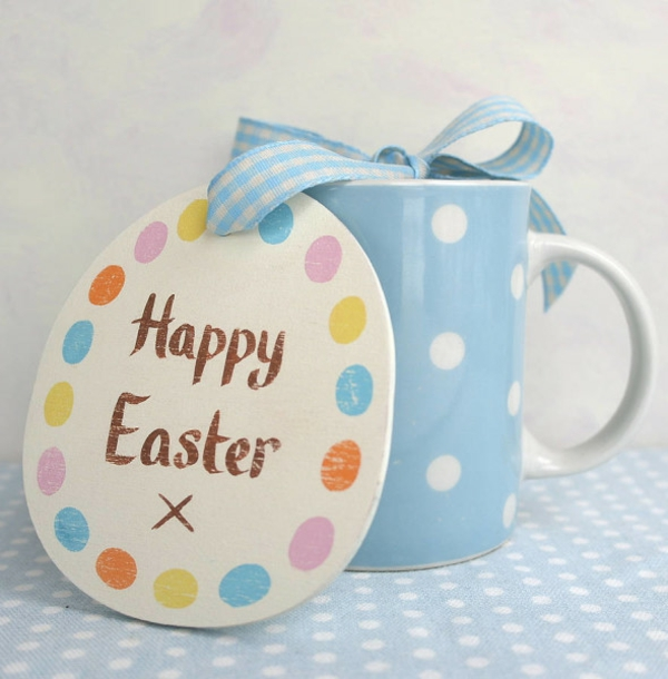 easter decoration tinker happy easter cup