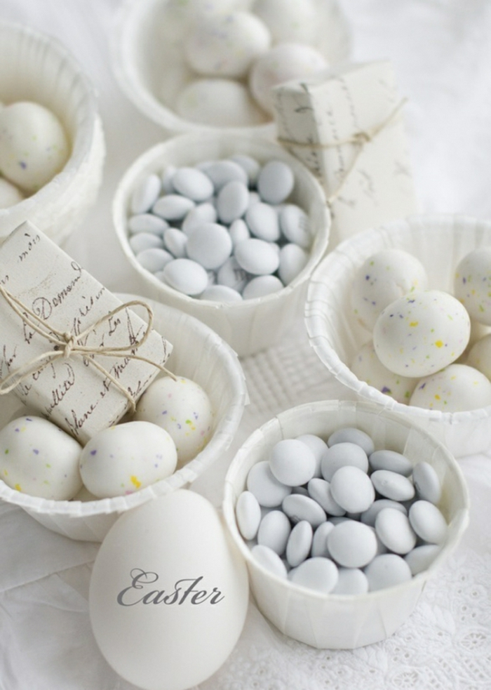 easter decorating homemade ideas easter eggs sweets table decoration