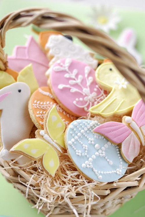 easter decoration fresh festive easter eggs hare chick quail yellow fresh colors bowl flower vase spring pastel colors